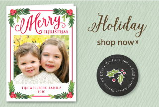Holiday Greeting Cards and Invitations