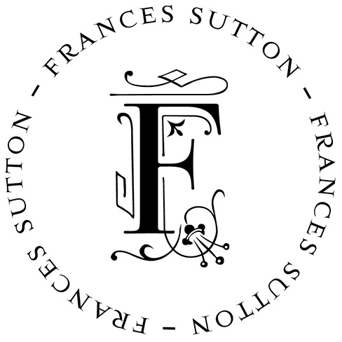 Frances Initial Address Stamp by PSA Essentials