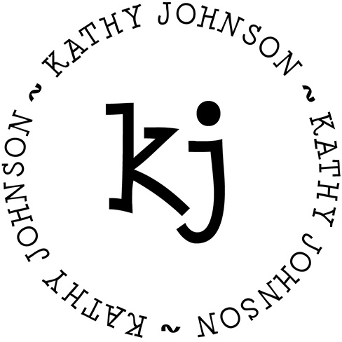 Kathy Personalized Stamp by PSA Essentials