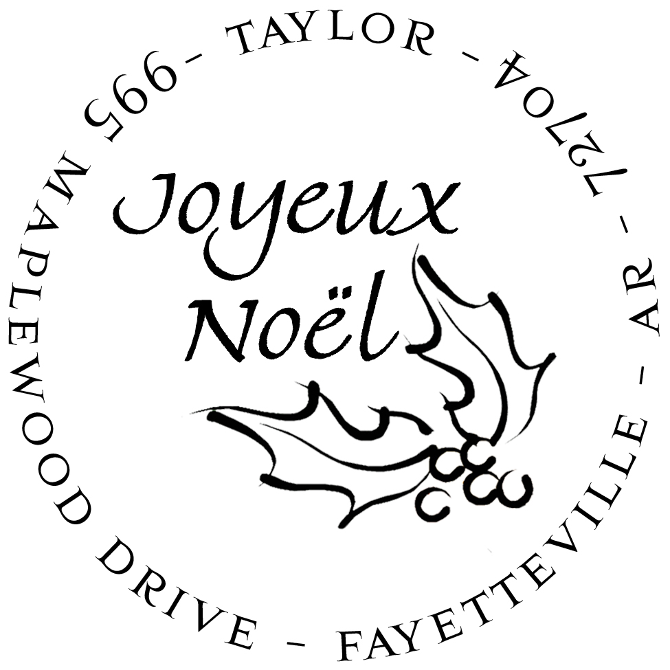 Joyeux Noel Stamp by PSA Essentials