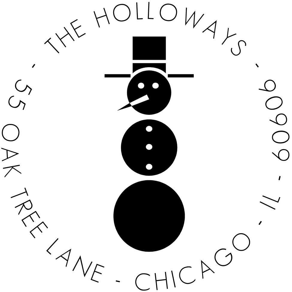 Retro Snowman Stamp by PSA Essentials
