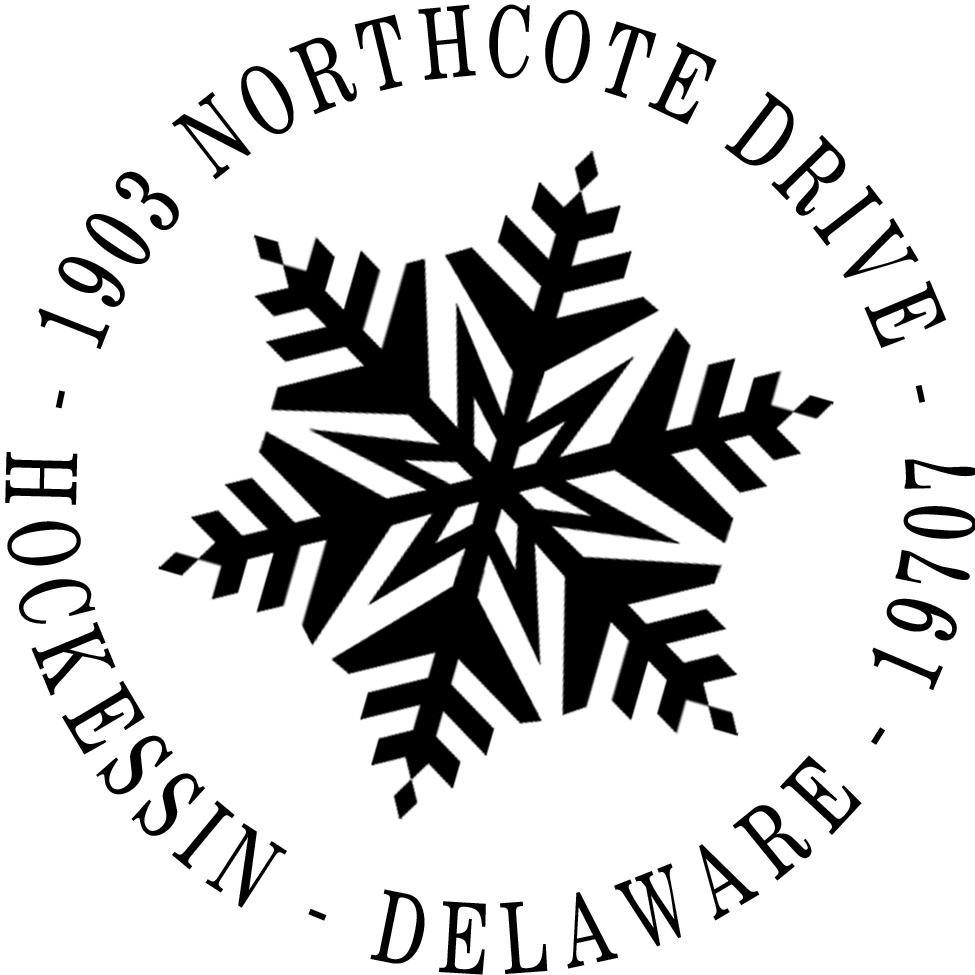 Snowflake Stamp by PSA Essentials