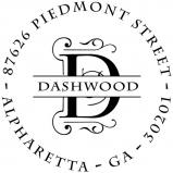 Dashwood Initial Stamp or Embosser