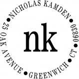 Nicholas Personalized Stamp by PSA Essentials