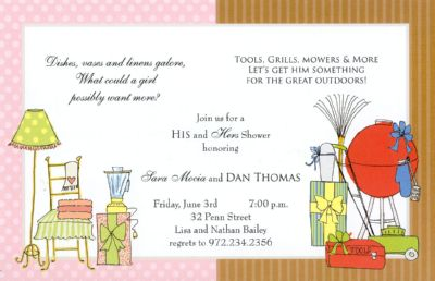His & Hers Card