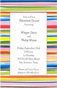 Paint Stripes Card