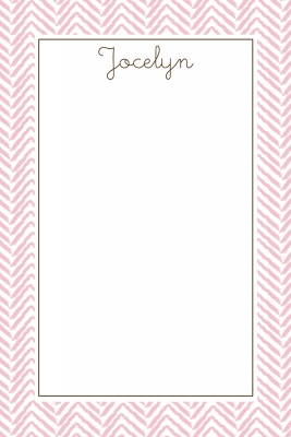 Pink Stitch Notecard