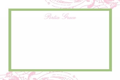 cavender pink Notecard