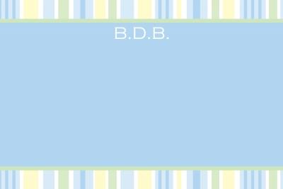 Trip's Stripes Notecard