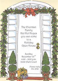 Open House Card