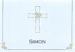 John's Cross Notecard