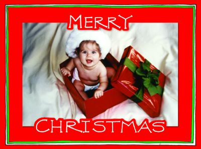 Merry Christmas Diecut