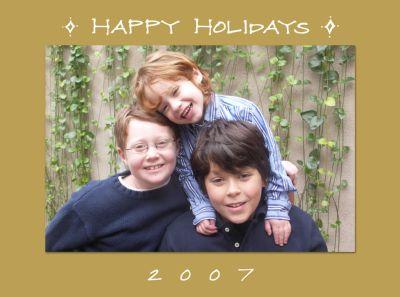Happy Holidays 2007