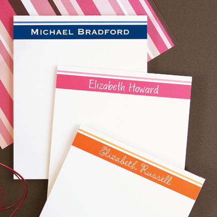 Banded Memo Pads