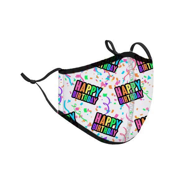 Happy Birthday Fashion Mask